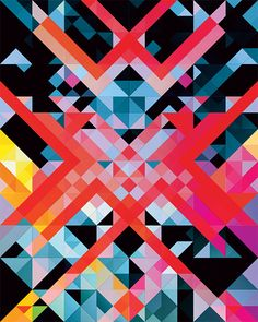 Hypnotic Geometric Compositions by Andy Gilmore | Inspiration Grid | Design Inspiration