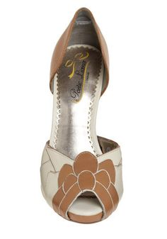 Retro brown & white. kind of love these. $133