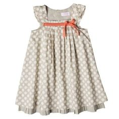 of course target would have the cutest baby clothes! this dress is soo cute!