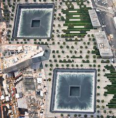 This is beautiful. September 11th Memorial