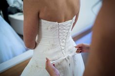 Congratulations to Abi & Josh on their big day. Abi looked stunning in her gown from
