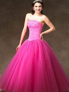 Pink Quincea�era Dresses!