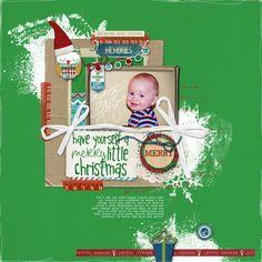 Merry Little Christmas - Scrapbook.com