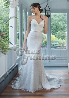 Sweetheart Gowns - Style Allover Sequined Lace Slim A-Line Gown available at Simply Elegant Bridal Boutique in Redding, CA Sincerity Bridal, Rembo Styling, Lillian West, Allure Bridal, Wedding Dress Trends, Dream Wedding Dresses, Fascinator, Sweetheart Wedding Dress, A Line Gown