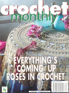 Crochet Monthly Magazine : ... crochet magia tapetes de ganchillo 8 1 decorative crochet magazines 5