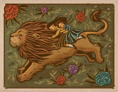 giclee print 11 x 14 inches signed open edition Inspired by The Chronicles of Narnia: The Lion, the Witch, and the Wardrobe