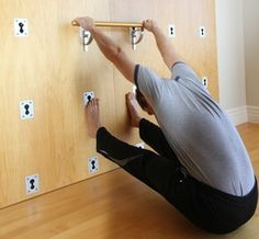 The Yoga Wall poses