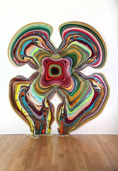 Holton Rower: Pour Paintings