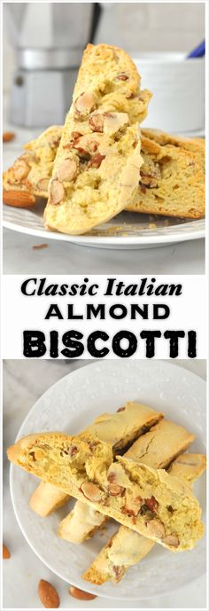 Crunchy, light and nutty These Italian biscotti filled with toasted whole almonds are perfect for any occasion