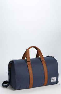 Free shipping and returns on Herschel Supply Co. 'Novel' Duffel Bag at Nordstrom.com. Double carrying handles define a classic duffel designed with an exterior zip shoe compartment to protect interior contents from dirt and grime.