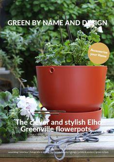 De nieuwe serie van Elho is echter een welkome verrassing. De Greenville potten laten namelijk zien dat een strak design, functioneel en duurzaam produceren heel goed samen kunnen gaan.   #accessorizeyourhome #withascandinaviantwist #elho #greenville #sponsoredblogpost #buitenpotten