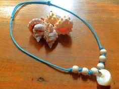 Plumeria Ariel  Mermaid Necklace Purchase it at https://www.facebook.com/plumeriajewelry