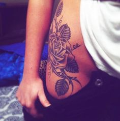 I like the placement, although the tattoo itself is not quite my style. Top 10 Hip Tattoo Designs