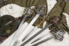 Scottish Basket Hilt Swords http://media-cache4.pinterest.com/upload/158470480607625266_drOlhoAH_f.jpg mh_hubby swords