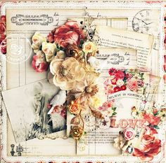3~ You have an eye and passion for scrapbooking. You love the girlie flowers, pins, lace, stickers, paper, and all the wonderful concoctions that go into making a page so beautiful. It's a reflection of you!