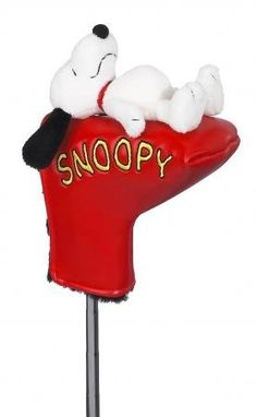 Licensed Sleeping Snoopy Golf Putter Cover NEW by Creative Covers. $19.99. Licensed Sleeping Snoopy Golf Putter Cover NEW. Save 33%!