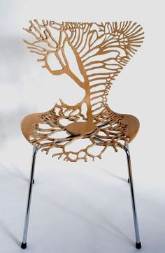 Symbiosis - Chair seriesVasa Intestina In Vasa Intestina series- anatomical mystery collides with domesticity. Arne Jacobson's design icon, the Series 7 chair morphs into forms inspired by anatomical drawings.  The intersection of two things that we take for granted everyday: our internal organs and dining room chairs. By Lisa Jones