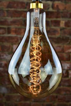 """Bulbrite Edison Bulb - 6"""" Nostalgic Spiral"""