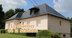 Chantier Technitoit à Tiercé (49), Isolation par l'extérieur + rénovation façade + toiture réalisées par Technitoit Angers