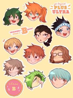 Assasination Classroom, Class B, Clash Royale, Buko No Hero Academia, Art Memes, Boku No Hero Academy, Aurora, Fanart, Manga
