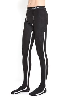 Minimalist and sophisticated. Give your legs a dynamic look with these side stripes mantyhose by Emilio Cavallini. Characterized by a subtle and linear design, these stylish tights for man are a versatile accessory to complete your outfit. Mens Fashion Shoes, Fashion Socks, Men In Stockings, Brown Tights, Striped Tights, Mens Tights, Boys Underwear, Comfy Pants, Stocking Tights