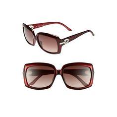 Dior 'My Lady Dior - 6' Square Sunglasses