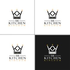 The kitchen kingdom needs to crown a winning logo Rooster Logo, Kitchen Cabinets And Countertops, Crown Logo, New Cabinet, Home Logo, Architectural Elements, Custom Logo Design, Company Names, Design Firms