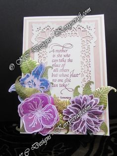 Stamping with Ryn Tanaka stamps