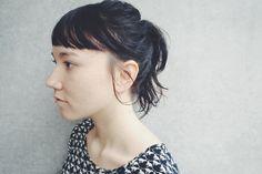 guest snap arrange hair ponytail