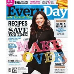 4-Year Subscription to Everyday with Rachael Ray : $19.96 (reg. $95.96) http://www.mybargainbuddy.com/4yrs-of-everyday-with-rachael-ray-18