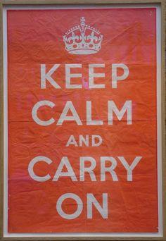 Keep Calm and Carry On #Austin #News #austin