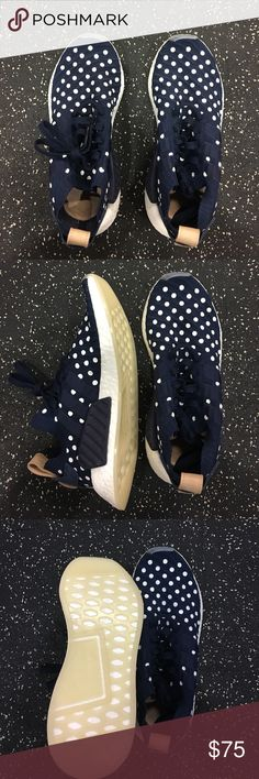 NEW Adidas NMD Polka Limited Sneakers NEW Adidas NMD Polka Limited Sneakers. Size 8. Never worn in perfect condition. adidas Shoes Sneakers