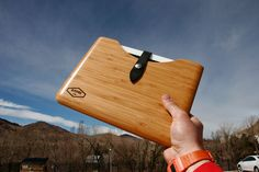 Blackbox ipad bamboo case !