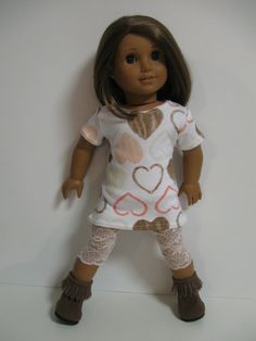 American Girl Doll Clothes  Chocolate by 123MULBERRYSTREET on Etsy