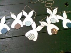 Bunny Bunting - For Easter