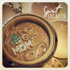 Lockets, Charms, & so much more. Even get money back on your own stuff.  Add on or start something new!!!! Start your own Spirit Lockets business. No cost to join , No website fees & back office, No monthly fees, No Monthly quota....Quota of only $25.00 a year. You get paid all the way down to your 4th tier 35% Commission on all your own sales & 35% Commission on all your own stuff you buy. Always!....Your making money either way. Ask me how!  http://www.spiritlockets.com/#CristinaFuchs