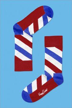 Air Mail Stripe by Happy Socks #Socks #Happy_Socks
