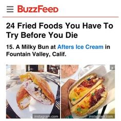 "Our ""milky bun"" makes it on to the list of ""24 fried foods you have to try before you die."" http://www.buzzfeed.com/candacelowry/fried-foods-you-have-to-try-before-you-die?s=mobile"