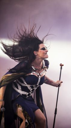 Floor Jansen, Nightwish - amazing lady!
