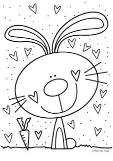 Frog Spot: Free Worksheet Make your world more colorful with free printable coloring pages from italks. Our free coloring pages for adults and kids. Bunny Coloring Pages, Printable Coloring Pages, Colouring Pages, Easter Colouring, Coloring Pages For Kids, Coloring Books, Drawing For Kids, Art For Kids, Color Club