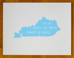 I'm So HappyKENTUCKY by TwoSarahs on Etsy
