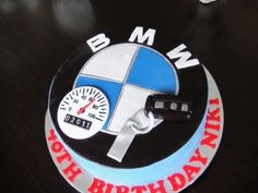 BMW cake By baleva on CakeCentral.com