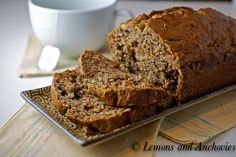 Banana Chocolate Bread  or try it with Nutella instead of the Chocolate