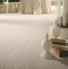 spot clean carpet, mix white vinegar and baking soda together to form a paste. Then, work the paste into the carpet stain with an old toothbrush, or something similar. Allow the paste to dry; then vacuum up the baking soda, and the stain should be gone--if not, you can apply hydrogen peroxide to the affected areas. - A Mum 'n the Oven