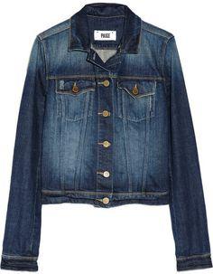Paige Vermont denim jacket on shopstyle.com