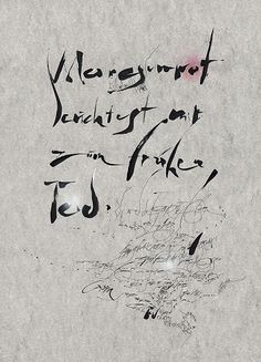 The Berlin Calligraphy Collection: Reiner Seibold