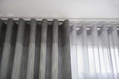 Best Inspiration Minimalist Home Curtains for Beautiful Residential Lounge Curtains, Wave Curtains, Ceiling Curtains, Curtains Living, Grey Curtains, Modern Curtains, Curtains With Blinds, Valance, Layered Curtains