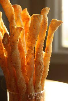 StoneGable: Parmesan Puffed Pastry Bread Sticks