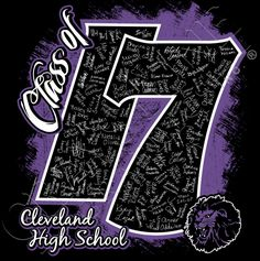Class of 2017 with your class signatures and mascot! Choose your school colors or class colors on your favorite apparel. 5th Grade Graduation, Graduation Shirts, Graduation Ideas, Yearbook Pages, Yearbook Ideas, Senior Class Shirts, Senior Gifts, Class Of 2018, Graduation Celebration