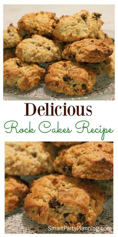 Bake some mouth watering rock cakes recipe that the entire family will love. Made with only a few ingredients, they can be made in literally minutes. This is the kind of recipe that that you can enjoy baking with the kids, but the whole family will devo Baking Recipes, Cookie Recipes, Dessert Recipes, Rock Cookies Recipe, Lemon Cookies, Drink Recipes, Rock Cakes, Caribbean Recipes, Caribbean Food